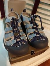EXC KEEN Women's Newport H2 Water Sandals Trail Shoes Blue/Vapor US 6 EU 36