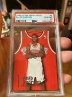 MASTERPIECE POPULATION 4 IMPOSSIBLE PSA 10 ALLEN IVERSON ULTRA FRESH FACES 1996