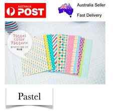 Pastel 20 pcs Polaroid Photo Films Sticker Album FujiFilm Instax Mini 8/7/7S/90