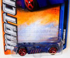 2011 MATCHBOX #25/120 MBX CITY ∞ BATMOBILE ∞ DARK BLUE BATMAN DC HERO