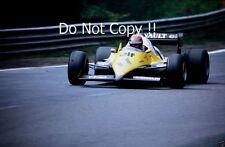 Eddie Cheever Renault RE40 Belgian Grand Prix 1983 Photograph 2