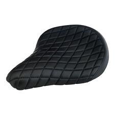 Biltwell Solo - Sitz Diamond, schwarz, für Harley - Davidson