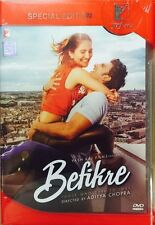 BEFIKRE DVD - RANVEER SINGH - 2016 HINDI MOVIE 2 DISC SPECIAL EDITION MULTI SUBT