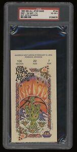 1995 NBA All-Star Basketball Game Ticket Stub PSA 4 VG-EX MVP-Mitch Richmond