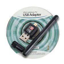 Mini Network Cards Wireless Usb Wifi 150 Mbps 2 Dbi Adapters Antenna 802.11g/b/n