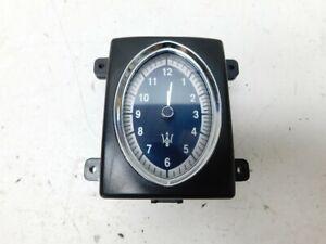 Maserati Quattroporte M139 2006 Dash Clock 207452 J127
