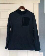 Mountain hardwear Blue Thin Hoodie sweater size Medium a3