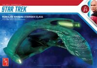 AMT Star Trek TNG Romulan Warbird 1:3200 scale model kit new 1125
