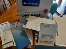 Vintage Motorola DPC 550 Flip Phone with Original Box and Paperwork - turns on