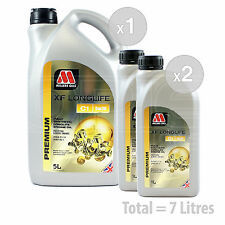 Car Engine Oil Service Kit / Pack 7 LITRES Millers XF Longlife C1 5w-30 7L
