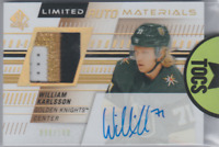 William Karlsson 2019-20 SP Authentic Limited Auto Materials Dual 088/100 Knight