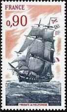 Timbre Bateaux France 1862 ** année 1975 lot 26107