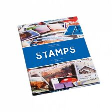 Stockbook STAMPS A5 Leuchtturm 361243 Stamp Collection Album with Black Pages