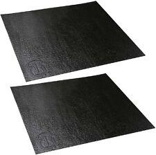 2 St. 40 x 37 cm Rutschschutz / Anti-Rutsch-Matte für Rackschubladen / Schubalde