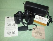 Vintage Sears 8x50mm Wide Angle Binoculars Model 2515 and Case