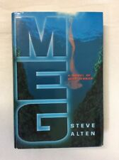 Meg by Steve Alten 1997 (HC)-Good  Original 1st Edition  W/Dedication