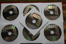 7 CDG LOT OLDIES & COUNTRY KARAOKE - BOB DYLAN,SONNY & CHER,ROY ORBISON CD+G