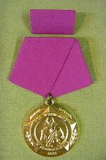 DDR Medaille - Für verdienste im Brandschutz - Gold - im Etui