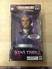 Star Trek Movie Headliners Xl Limited Edition Klingon New #00001 of 20,000 Rare