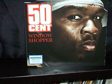 50 CENT WINDOW SHOPPER - RARE AUSTRALIAN CD SINGLE NM