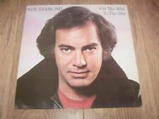 "NEIL DIAMOND "" ON THE WAY TO THE SKY "" VINYL LP CBS 1981 EX/EX"