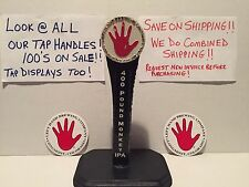 Lefthand Brewing 400 Pound Monkey IPA Beer Tap Handle & Beer Stickers Lot