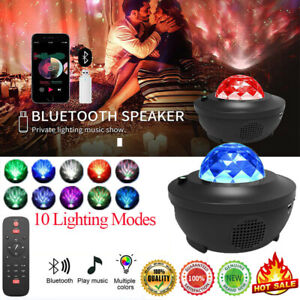 GALAXY360PRO PROJECTOR -Music Starry Water Wave LED Projector Light Bluetooth 🥇