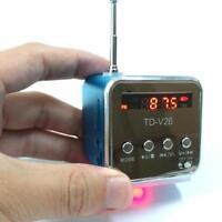 New Portable Micro SD TF USB Mini Stereo Bass Speaker Music Player·FM Radio MP3