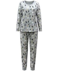Matching Family PJ Plus Size Woodland Winter Trees Christmas Pajama Set 2X #6973