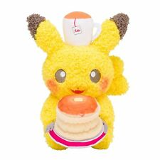 Pokemon Center Original Pikachu Plush Doll Pokemon meets Karel Capek Pancake