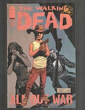 """The Walking Dead #115-126 ~ ALL 12 ISSUE RUN / """"ALL OUT WAR"""" ~ 2013 (9.0-9.2) WH"""