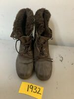 Sorel Womens Snow Angel Lace Boots 6 Brown
