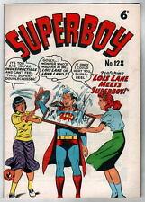 Australian SUPERBOY 128 DC Comics 1950's 32 pgs Lois Lane Lana Lang UK