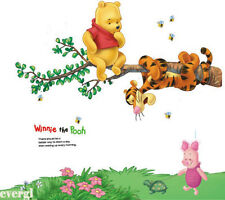 Winnie The Pooh Wall Sticker kIDS Baby Room Decor Removable Vinyl decals