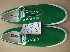 Converse Skidgrip Mens Size 12 Green Suede NOS Made In U.S.A.
