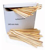5000 Einweg Rührstäbchen aus Holz 140mm Rührsticks