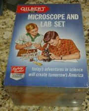 Gilbert Microscope and Lab Set No 13055