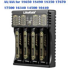 LiitoKala Lii-402 Intellicharger Battery Charger for Ni-MH Li-ion LiFePO4 18650