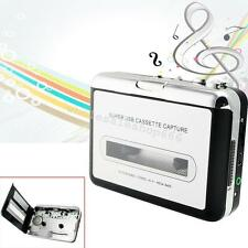 Portable USB Cassette Tape to MP3 iPodCD Converter Capture Music Player Hot Gift
