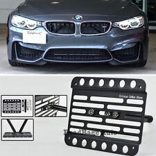 For 15-Up BMW F82 F83 4-Series M4 Only Front Tow Hook License Plate Bracket