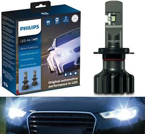Philips Ultinon Pro9000 LED 5800K H7 Two Bulbs Head Light High Beam Replace Lamp