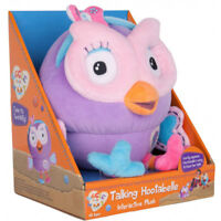 """Giggle and Hoot Talking HOOTABELLE 8""""/20cm Interactive soft toy ABC KIDS TV SHOW"""