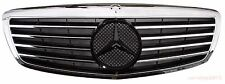 W221 07-09 Front Grille Mercedes Benz S-Class S550 S600 Chrome&Black New Style