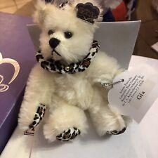 Annette Funicello Bear - Gia - Bean Bag Collection