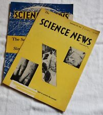 Science News - September 23, & 30, 1967