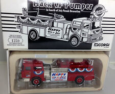 Corgi 1:50 Mack CF Pumper Fire Truck 4th of July ltd ed. 1259 of 2,000 firetruck