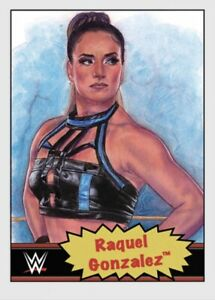 TOPPS WWE LIVING SET CARD RAQUEL GONZALEZ #66 ONLINE EXCLUSIVE LIMITED EDITION