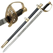 30 Inch Handmade Cavalry Saber U.S. Civil War Foot Officer's Sword
