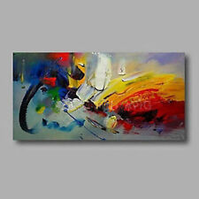 Large Modern Handpainted Oil Painting Abstract Art Wall Decoration Unframed