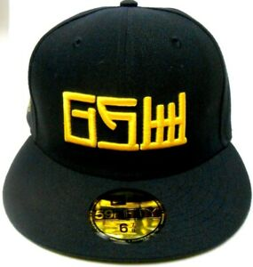 New Era NBA GSW Golden State Warriors The Bay 59Fifty Fitted Hat Cap City Series